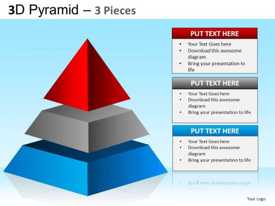 PowerPoint Layouts Business Growth Pyramid Ppt Designs
