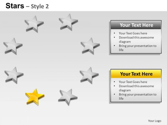 PowerPoint Layouts Business Stars Ppt Templates