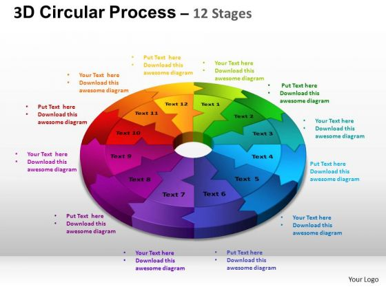 PowerPoint Layouts Chart Circular Process Cycle Ppt Designs