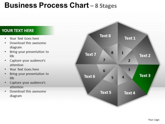 PowerPoint Layouts Chart Circular Quadrant Ppt Themes