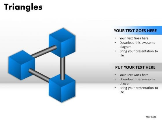 PowerPoint Layouts Chart Triangles Ppt Presentation