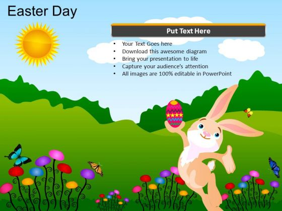 PowerPoint Layouts Christian Easter Day Ppt Template