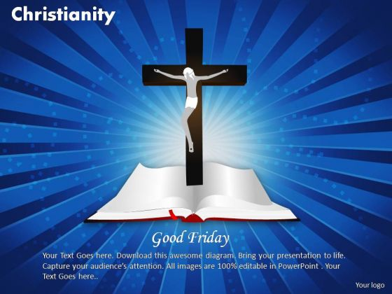 PowerPoint Layouts Company Christianity Ppt Backgrounds