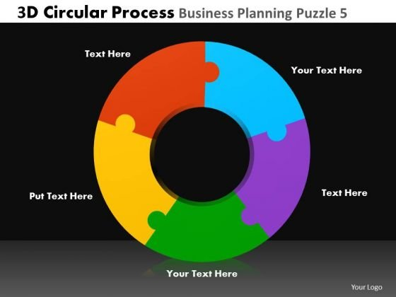 PowerPoint Layouts Corporate Leadership 3d Circular Process Ppt Presentation Designs