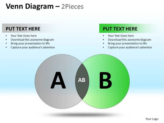 PowerPoint Layouts Corporate Success Venn Circular Diagram Ppt Design Slides