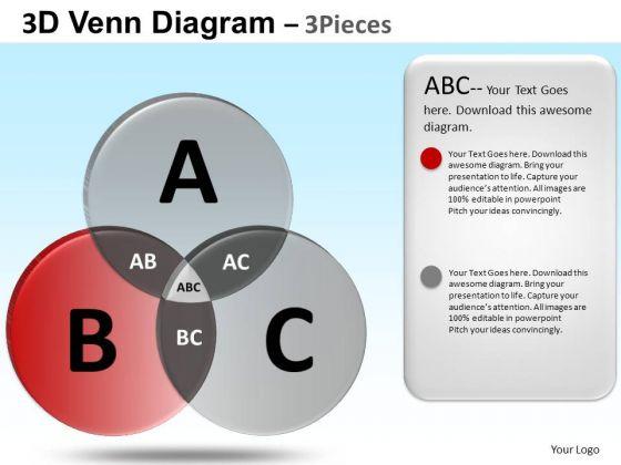 PowerPoint Layouts Corporate Success Venn Diagram Ppt Slides