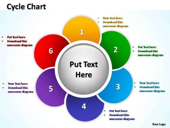 PowerPoint Layouts Diagram Cycle Chart Ppt Theme - PowerPoint ...