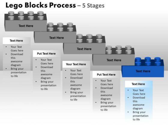 PowerPoint Layouts Diagram Lego Blocks Ppt Slidelayout