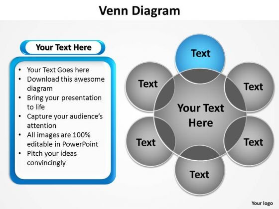powerpoint layouts download venn diagram ppt template - powerpoint, Modern powerpoint