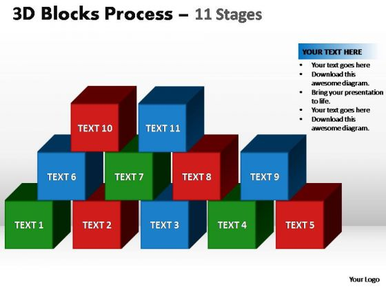 PowerPoint Layouts Editable Blocks Process Ppt Themes