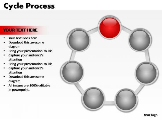 PowerPoint Layouts Editable Cycle Process Ppt Presentation