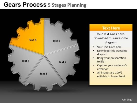PowerPoint Layouts Education Gears Process Ppt Process