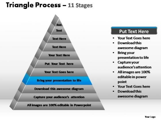 PowerPoint Layouts Education Triangle Process Ppt Slide Designs