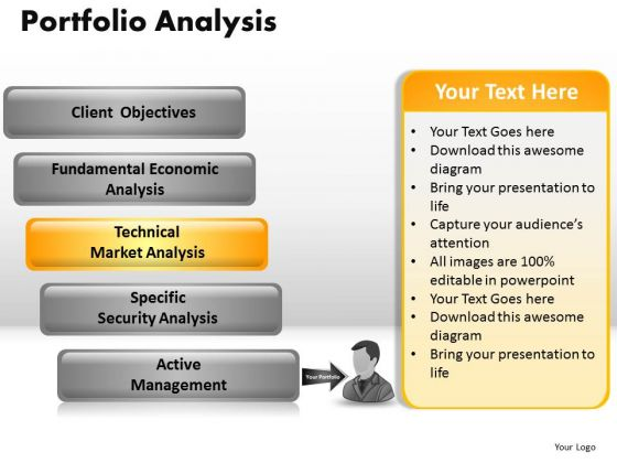 PowerPoint Layouts Global Portfolio Analysis Ppt Template