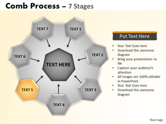 PowerPoint Layouts Growth Wheel And Spoke Process Ppt Backgrounds