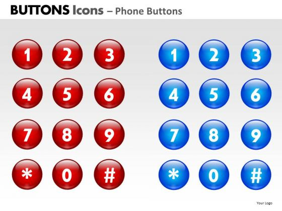 PowerPoint Layouts Image Buttons Icons Ppt Templates