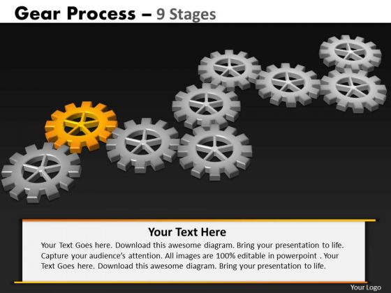 PowerPoint Layouts Image Gears Process Ppt Backgrounds