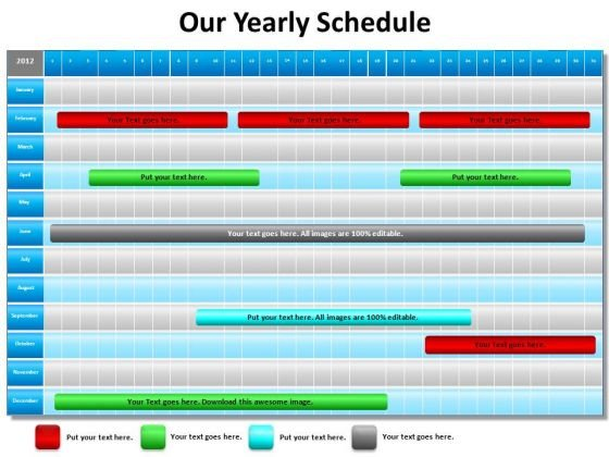 Schedule Powerpoint Templates Slides And Graphics