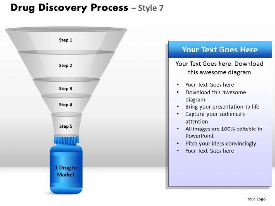 PowerPoint Layouts Leadership Drug Discovery Ppt Template