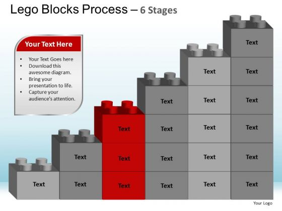 PowerPoint Layouts Leadership Lego Blocks Ppt Slides