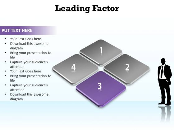 PowerPoint Layouts Marketing Leading Factor Ppt Templates