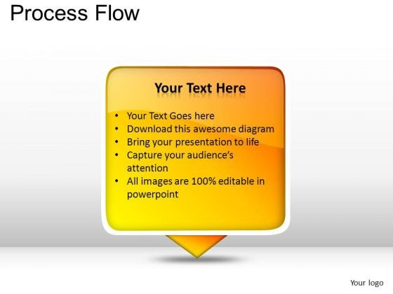 PowerPoint Layouts Marketing Process Flow Ppt Themes