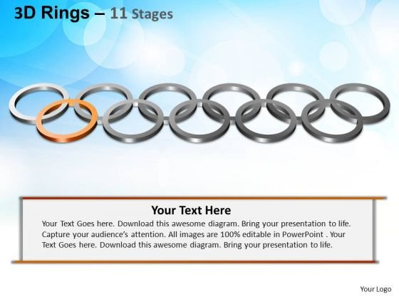 PowerPoint Layouts Marketing Rings Ppt Slides