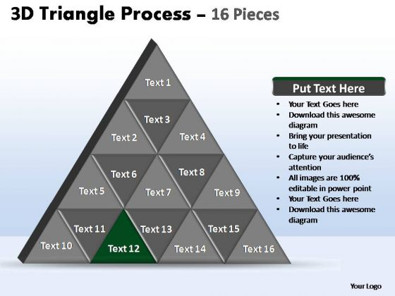 PowerPoint Layouts Marketing Triangle Process Ppt Slide Designs
