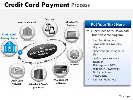 PowerPoint Layouts Sales Credit Card Payment Ppt Slide Designs