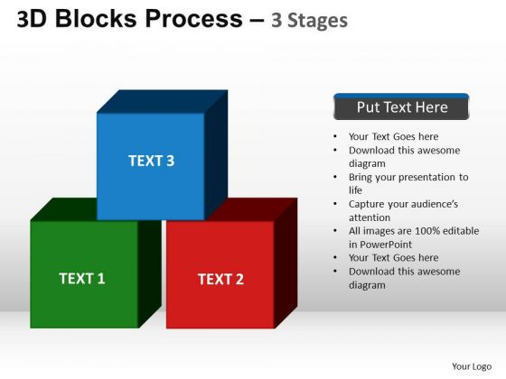 PowerPoint Layouts Strategy Blocks Process Ppt Slide Designs