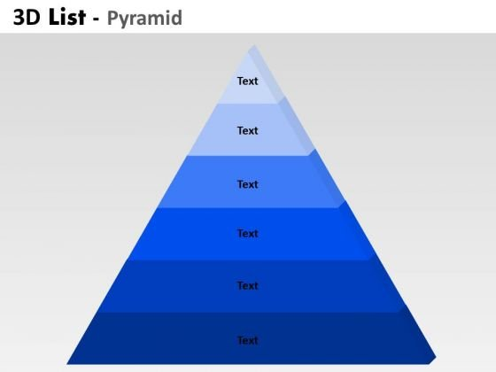 PowerPoint Layouts Strategy Bulleted List Pyramid Ppt Slidelayout