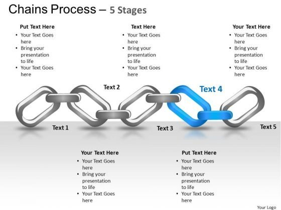 PowerPoint Layouts Strategy Chains Process Ppt Backgrounds