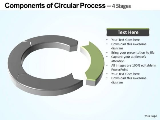 PowerPoint Layouts Strategy Components Of Circular Ppt Designs