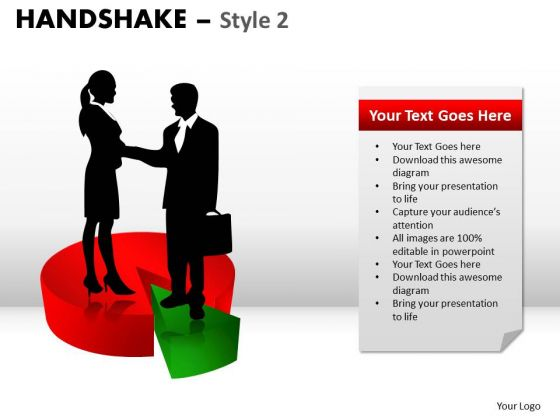 PowerPoint Layouts Strategy Handshake Ppt Design Slides