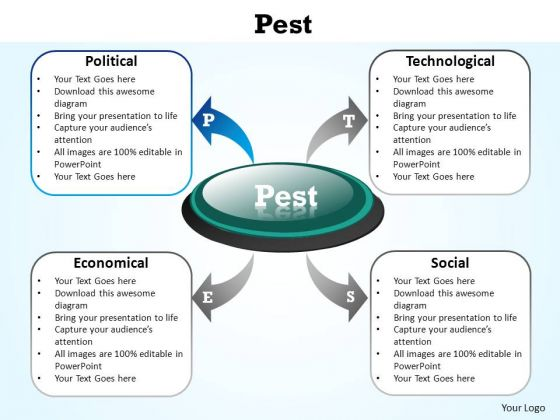 PowerPoint Layouts Strategy Pest Ppt Slide Designs