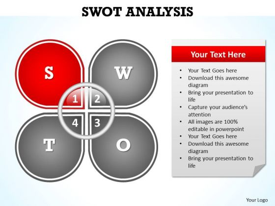 PowerPoint Layouts Strategy Swot Analysis Ppt Design Slides