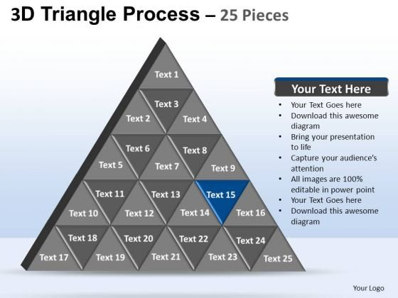 PowerPoint Layouts Strategy Triangle Process Ppt Layouts