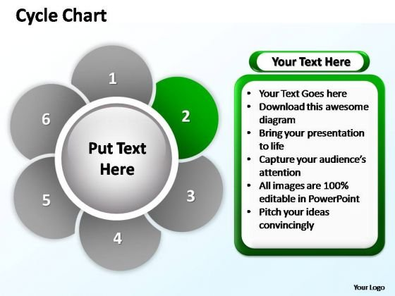 PowerPoint Layouts Success Cycle Chart  Ppt Process