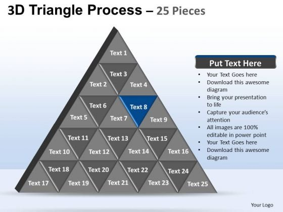 PowerPoint Layouts Success Triangle Process Ppt Presentation