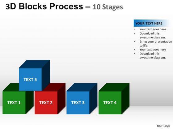 PowerPoint Layouts Teamwork Blocks Process Ppt Design
