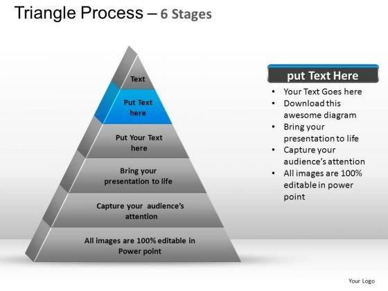 PowerPoint Layouts Teamwork Triangle Process Ppt Design
