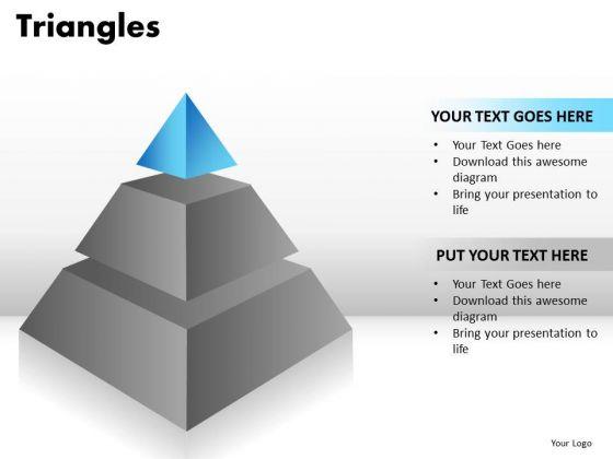 PowerPoint Layouts Teamwork Triangles Ppt Slidelayout