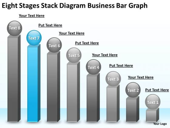 PowerPoint Presentation Bar Graph Business Plan Outline Template Templates