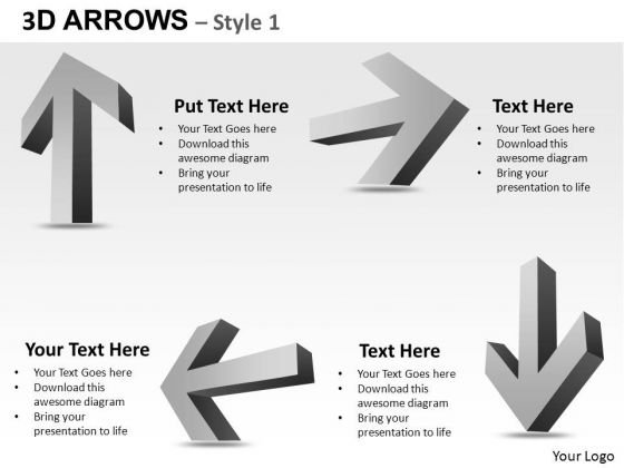 PowerPoint Presentation Business Arrows Ppt Template