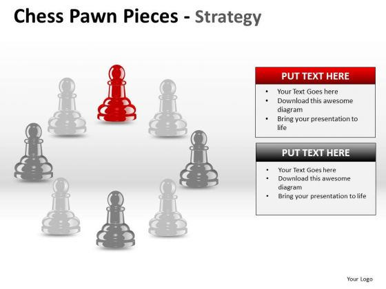 PowerPoint Presentation Business Chess Pawn Ppt Templates