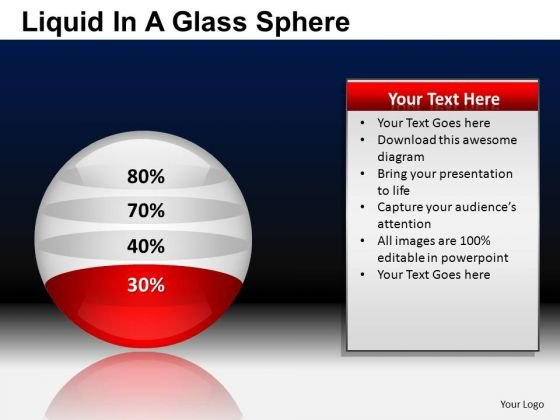 PowerPoint Presentation Business Competition Liquid In A Ball Sphere Ppt Slides