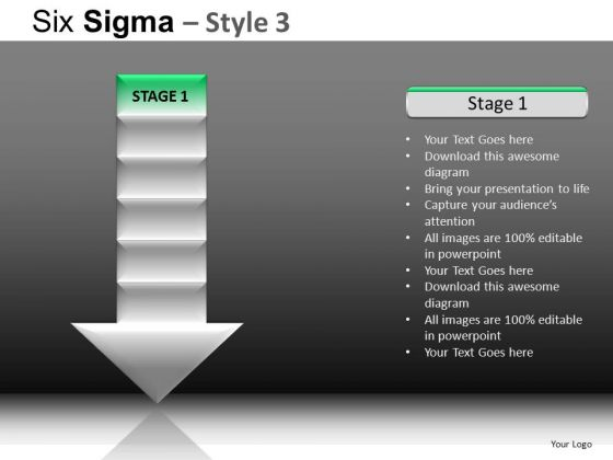 PowerPoint Presentation Business Competition Six Sigma Ppt Slides