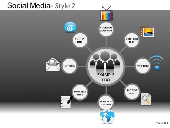 PowerPoint Presentation Business Competition Social Media Ppt Presentation Designs