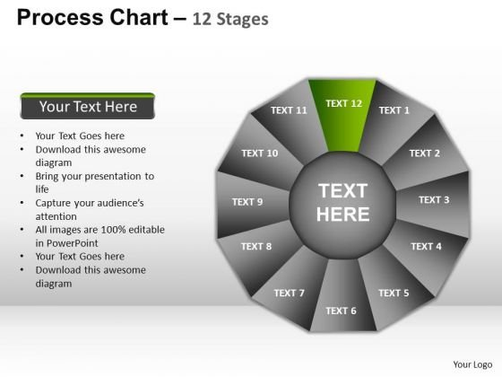 PowerPoint Presentation Business Process Chart Ppt Theme