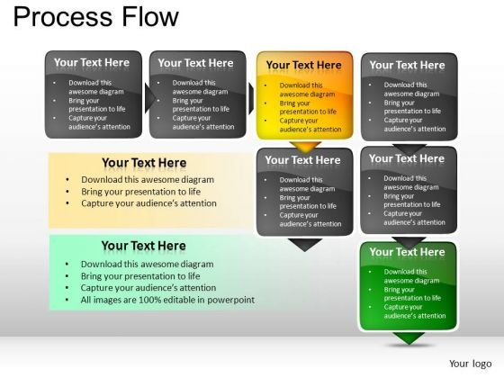 PowerPoint Presentation Business Process Flow Ppt Templates